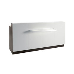 Sunrise Desk | GAMMA STATE OF THE ART Salon Reception Desk | Counters | GAMMA & BROSS
