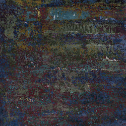 Texture - Canvas scarab blue | Rugs | REUBER HENNING