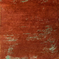 Texture - Paint chestnut | Rugs / Designer rugs | REUBER HENNING