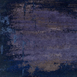 Texture - Shallow true blue | Tappeti / Tappeti d'autore | REUBER HENNING