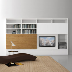 Pari & Dispari Sliding door arrangements | Cabinets | Presotto