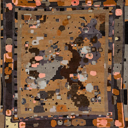 Lost in Translation - Fantaisie Impromptu brown | Rugs / Designer rugs | REUBER HENNING