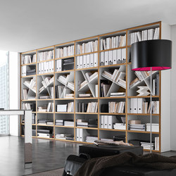Pari & Dispari Bookcases | Shelving systems | Presotto
