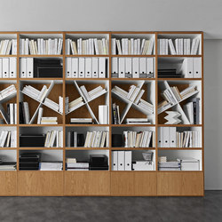 Pari & Dispari Bookcases | Librerías | Presotto