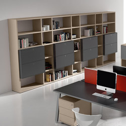 Atreo | Office shelving systems | ALEA