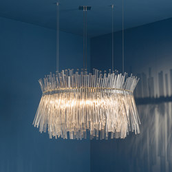Rondo Fano 1 | Ceiling suspended chandeliers | Isabel Hamm