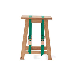 Strap Stool | green | Hocker | Vij5