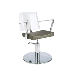 Acrilia | GAMMA STATE OF THE ART Styling salon chair | Barber chairs | GAMMA & BROSS
