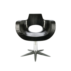 Aureole | GAMMA STATE OF THE ART Styling salon chair | Barber chairs | GAMMA & BROSS