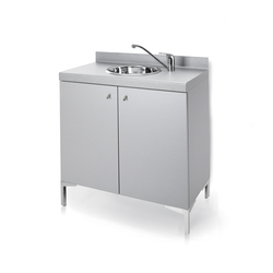 Base Wash B | GAMMA STATE OF THE ART Shampoo area cabinet | Wellness storage | GAMMA & BROSS