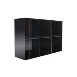 Opale 90 | GAMMA Wall display unit | Display cabinets | GAMMA & BROSS