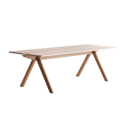 Copenhague Moulded Plywood Table CPH110 | Reading / Study tables | Hay