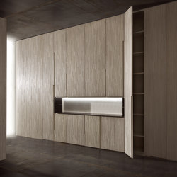 Decor | Cabinet System | Walk-in wardrobes | Laurameroni