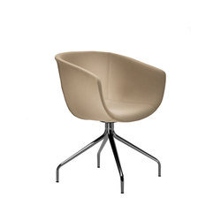 Derby | Swivel 4 leg spider base, upholstered | Sedie visitatori | Segis