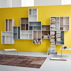Montana Shelving system | application example | Bibliothèques | Montana Møbler