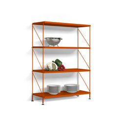 TRIA PACK floor | Shelving | Mobles 114