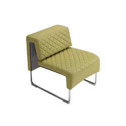 Path diamond armchair | Modular seating elements | sitland