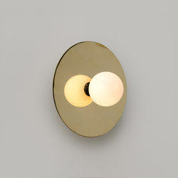 Disc and Sphere Wall Lamp | Wandleuchten | Atelier Areti