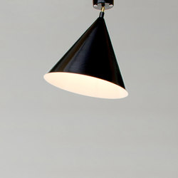 Cone and Plate Ceiling Lamp | Iluminación general | Atelier Areti