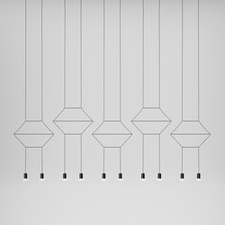 Wireflow 0330 Pendant lamp | General lighting | Vibia