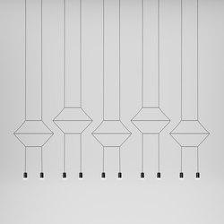 Wireflow 0330 Suspension luminaire | Éclairage général | Vibia