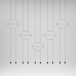 Wireflow 0332 Pendant lamp | General lighting | Vibia