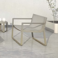 Flat Textile armchair | Fauteuils de jardin | GANDIABLASCO