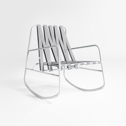 DozeQuinze Rocking Chair | Garden armchairs | GANDIABLASCO