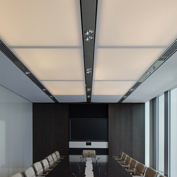 Soft Cells | Ceiling installation | Illuminated ceiling systems | Kvadrat Soft Cells