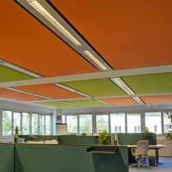 Soft Cells Broadline | Ceiling installation | Systèmes complets | Kvadrat Soft Cells