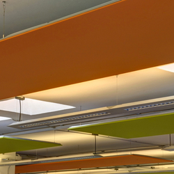 Soft Cells Broadline | Ceiling installation | Complete systems | Kvadrat Soft Cells