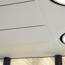 Soft Cells Broadline | Ceiling installation | Illuminated ceiling systems | Kvadrat Soft Cells