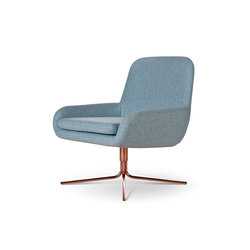 Coco Swivel Copper | Poltrone lounge | Softline A/S