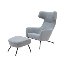 Havana with stool | Poltrone lounge | Softline A/S