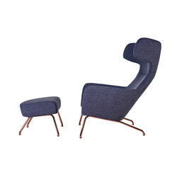 Havana Copper with stool | Lounge chairs | Softline A/S