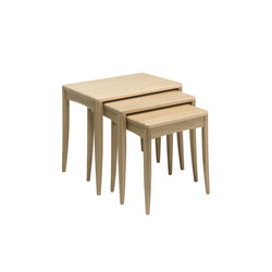 Artisan nest of tables | Mesas auxiliares | Ercol