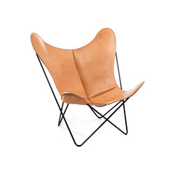 Hardoy | Butterfly Chair | Saddle Leather | Fauteuils | Manufakturplus