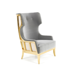 Soft & Creamy | Revisted Armchair | Poltrone lounge | MUNNA
