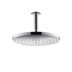 Hansgrohe Raindance Select S 300 2jet overhead shower with ceiling connector 100 mm | Shower taps / mixers | Hansgrohe