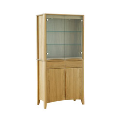 Artisan two door display top | Vitrinas | Ercol