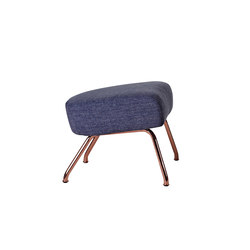 Havana Copper footstool | Pouf | Softline A/S