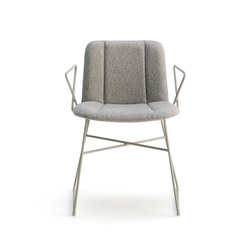 Hippy | Visitors chairs / Side chairs | Billiani