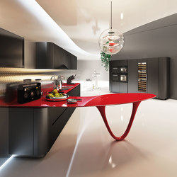 Ola 25 Black Rosso Limited Edition | Cocinas integrales | Snaidero