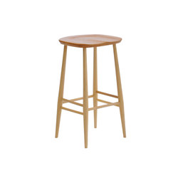 Barst hle barhocker sitzm bel originals bar stool ercol for Barhocker untergestell