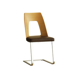 Romana cantilevered dining chair | Visitors chairs / Side chairs | Ercol