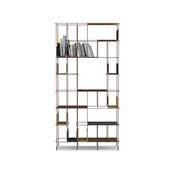 Network bookcase | Office shelving systems | Casamania