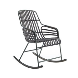 Raphia Rocking rocking chair | Stühle | CASAMANIA-HORM.IT