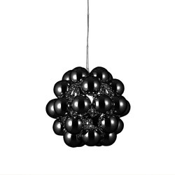 Beads Penta Gloss Black Pendant | Suspended lights | Innermost
