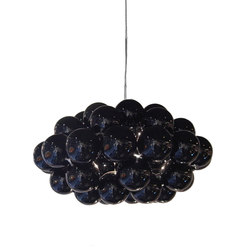 Beads Octo Gloss Black Pendant | Iluminación general | Innermost
