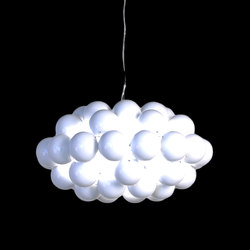 Beads Octo White Pendant | Suspensions | Innermost